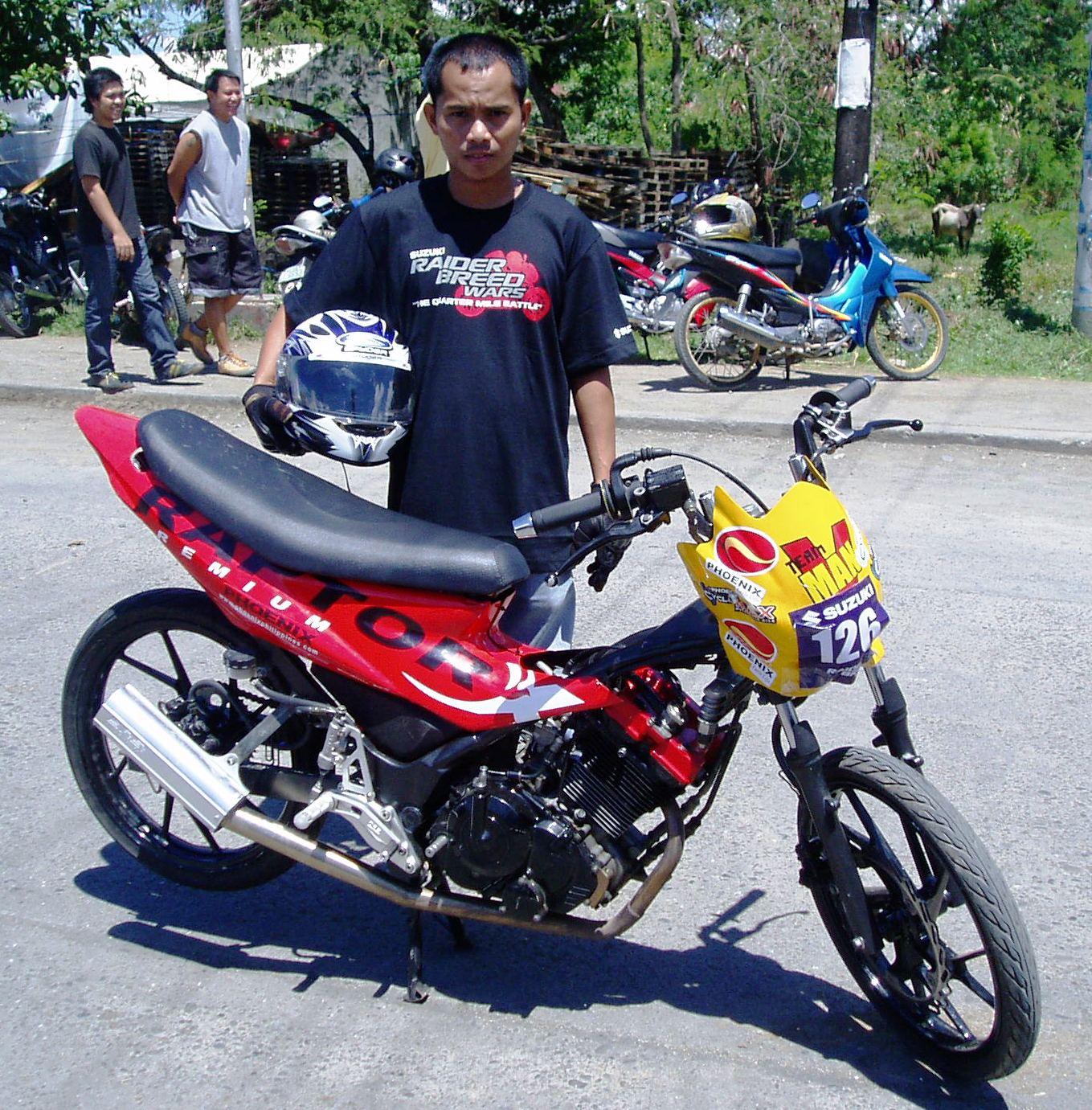 Suzuki Raider J Pro Spec And Price: Phoenix Petroleum Powers V-Man Racers To Nat'l Motorcycle