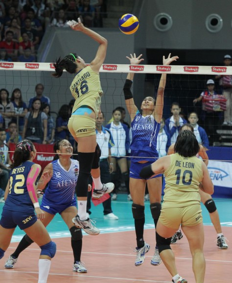 Shakey's V-League in action