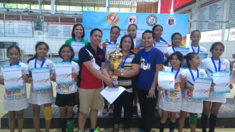 Kadayawan volleyball